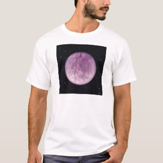 Violet flame earth: the Aquarian Age planet T-Shirt