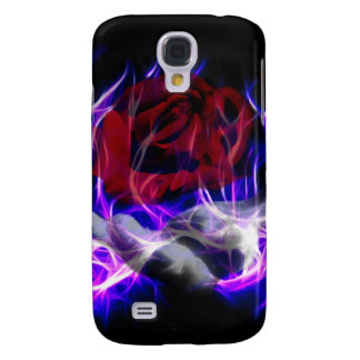 Violet flame rose and Gods hand Galaxy S4 Case