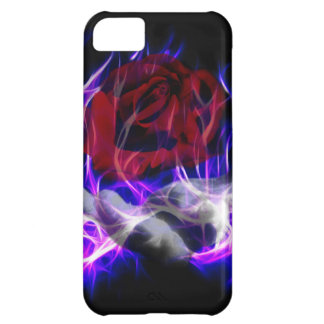 Violet flame rose and Gods hand iPhone 5C Cover