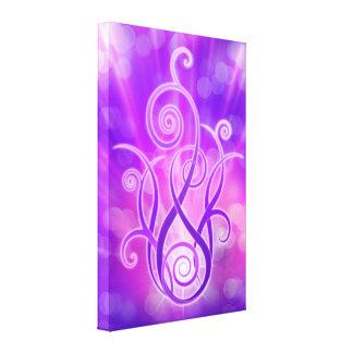 Violet Flame / Violet Fire Canvas Print