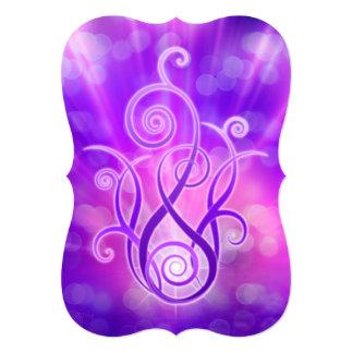 Violet Flame / Violet Fire Card