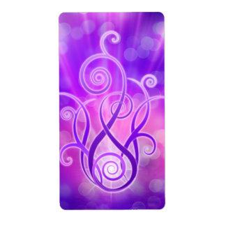 Violet Flame / Violet Fire Label