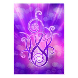 Violet Flame / Violet Fire Large Business Card