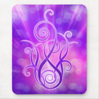 Violet Flame / Violet Fire Mouse Pad