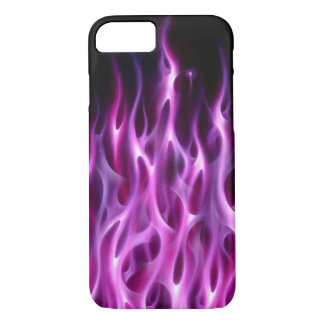 Violet Flames - iPhone 7 case