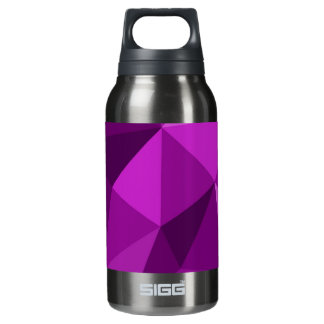 Violet flat wrapping surface pattern insulated water bottle