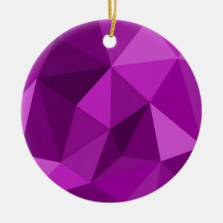 Violet flat wrapping surface pattern christmas ornaments