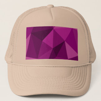 Violet flat wrapping surface pattern trucker hat