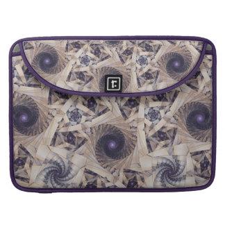 Violet flirt Rickshaw Flap Sleeve Sleeve For MacBooks