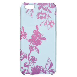 Violet Flora iPhone5 Case