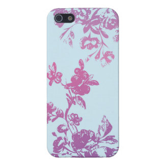 Violet Flora iPhone5 Case iPhone 5 Covers