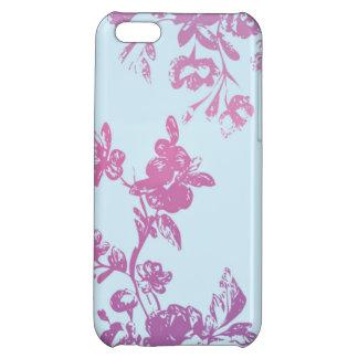 Violet Flora iPhone5 Case iPhone 5C Cover