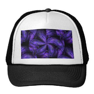Violet Floral Abstract.jpg Trucker Hat