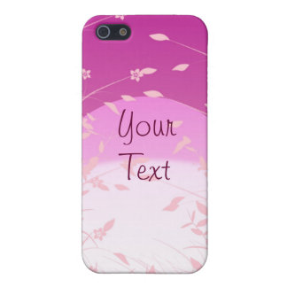 Violet Floral iPhone Case 4 Cases For iPhone 5