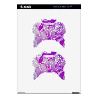 Violet Flower Xbox 360 Controller Skins