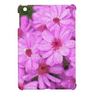 Violet flowers iPad mini cover