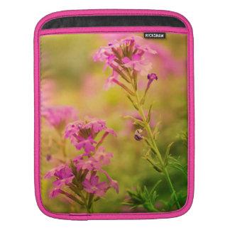 Violet Flowers iPad Sleeve