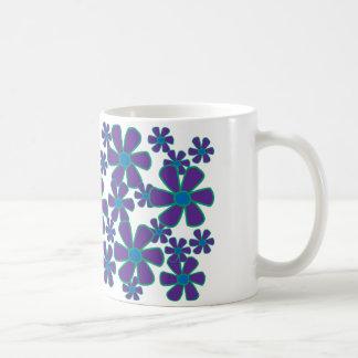 Violet Flowers Mug