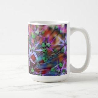 Violet flowers of ornamental onion Globemaster Coffee Mug