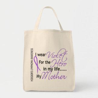 Violet For Hero 1 Hodgkin's Lymphoma Mother Tote Bag