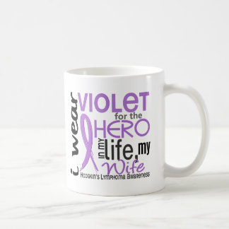 Violet For My Hero 2 Wife Hodgkin's Lymphoma Coffee Mug
