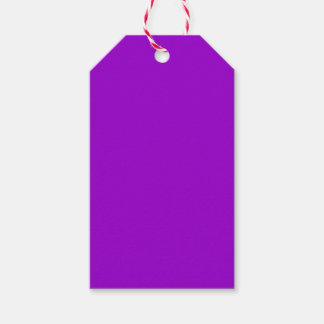 Violet Pack Of Gift Tags