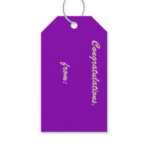 Violet Gift Tags
