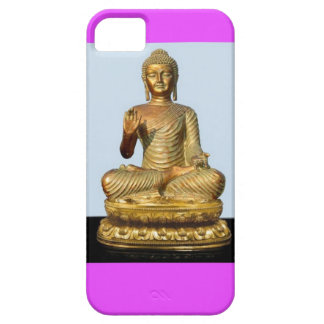 Violet & Gold Buddha Statue by SHARLES iPhone 5 Cases