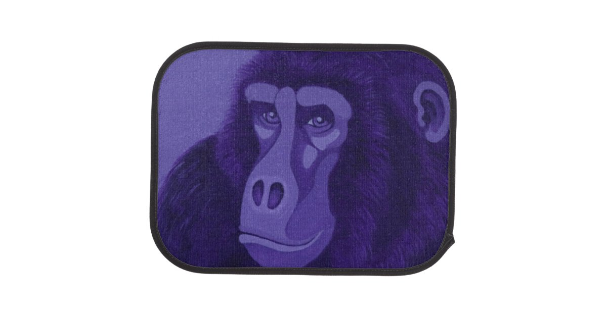 Violet Gorilla Car Mats