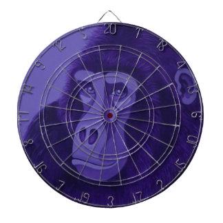 Violet Gorilla Dart Board