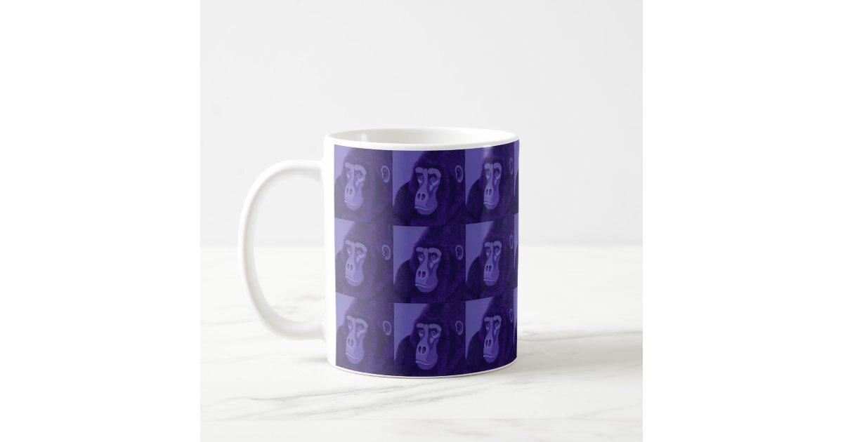 Violet Gorilla Mug