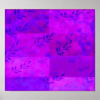 violet grape juice poster