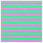 [ Thumbnail: Violet & Green Colored Pattern of Stripes Fabric ]
