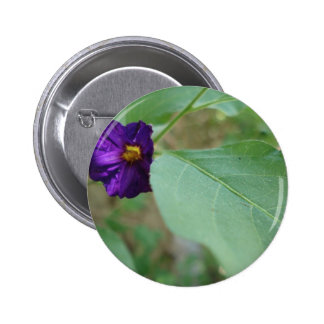 Violet Green Pinback Button