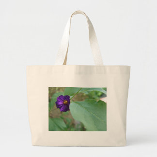 Violet Green Tote Bags