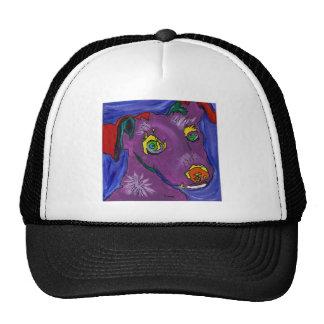 VIOLET TRUCKER HAT