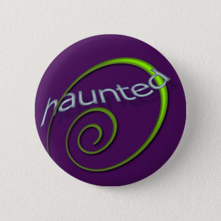 Violet Haunted Button
