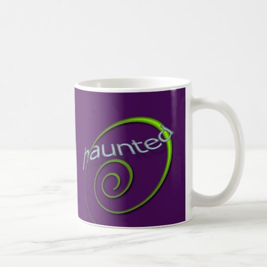 Violet Haunted Coffee Mug