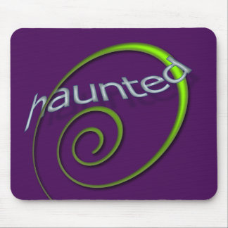 Violet Haunted Mouse Pad