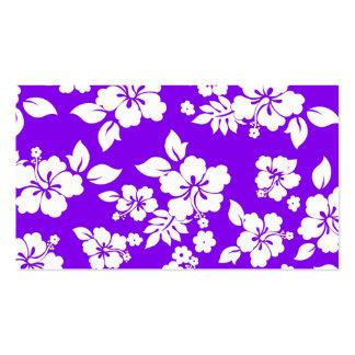 Violet Hawaiian Business Card