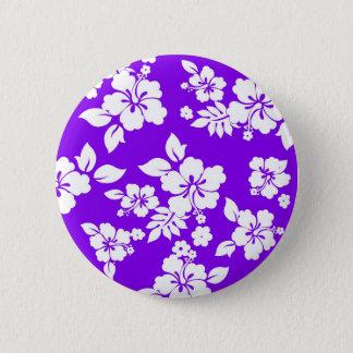Violet Hawaiian Button