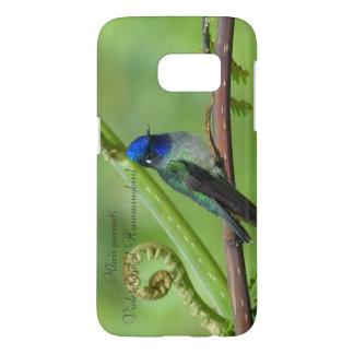 Violet-headed Hummingbird. Samsung Galaxy S7 Case