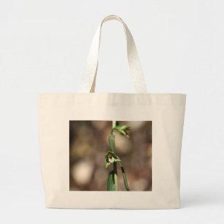 Violet Helleborine (Epipactis purpurata) Large Tote Bag