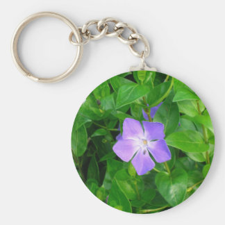 Violet Herbaceous Periwinkle Keychain