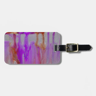 Violet horizon bag tag