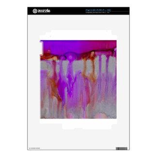 Violet horizon iPad 2 decals