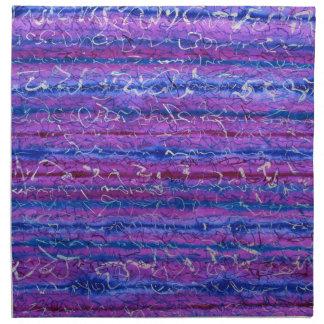 Violet Hour Cloth Napkins - Set of 4