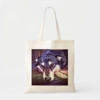 Violet Hue Sled Dog Bags