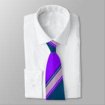Violet Indigo and Lilac Tie