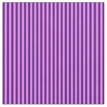 [ Thumbnail: Violet & Indigo Lined/Striped Pattern Fabric ]